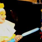 Pierrot e palloncini