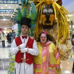 draghi domatore clown