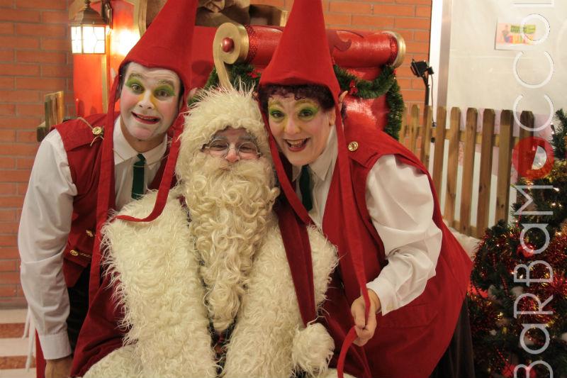 Immagini Di Folletti Di Babbo Natale.Folletti Di Natale Barbamoccolo E Piccola Accademia Keaton